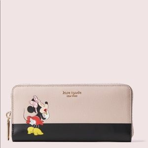 Kate Spade Minnie Mouse Continental Wallet